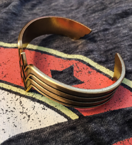 Wonder Woman Gold Cuff
