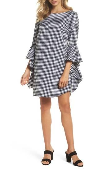 Nordstrom, Chelsea28 Ruffle Sleeve Shift Dress; $129