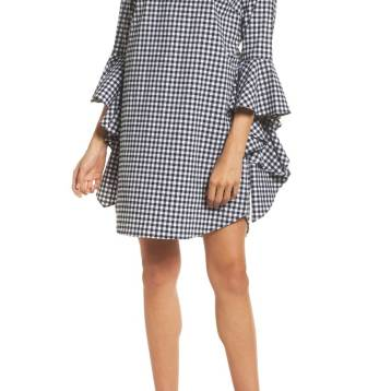 Nordstrom, Chelsea28 Ruffle Sleeve Shift Dress; $129